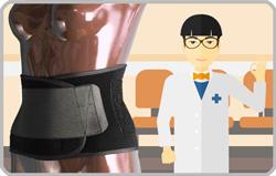 腰痛ベルトで治す<腰椎分離症>