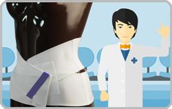 腰痛ベルトで治す<脊柱管狭窄症の間欠性跛行>
